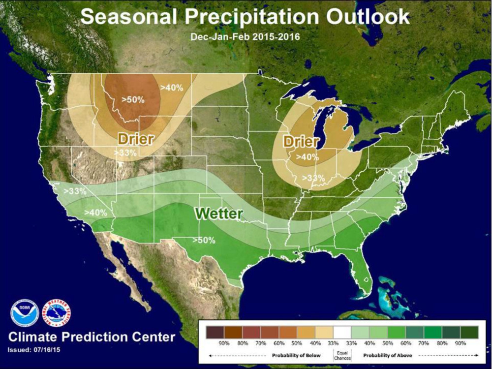 Winter snow forecast 2015 2016 Are we going to get snow this year 2016