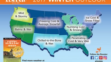 Winter weather map/forecast
