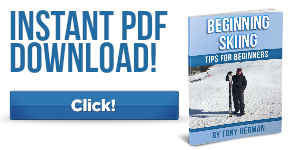 Beginning Skiing Tips Book - CLICK