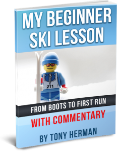"""My Beginner Skiing Lesson With Commentary"" by Tony Herman"