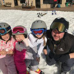 Tony with kids