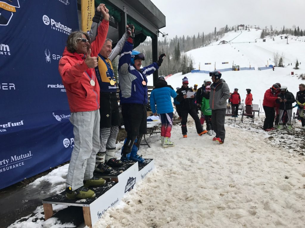 Slalom awards ceremony